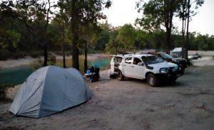 Jarrahwood Pool camp.